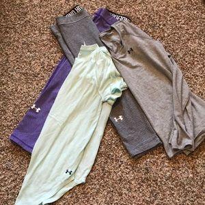 Long sleeve, short sleeve and 2 pairs of leggings